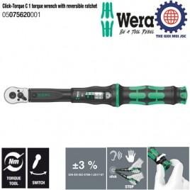 Cần xiết chỉnh lực Click-Torque C 1, 10 – 50Nm Wera 05075620001