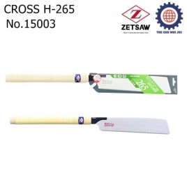 Cưa gỗ CROSS H-265 Zetsaw 15003