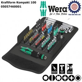 Bộ dụng cụ Kraftform Kompakt 100 Wera 05057460001