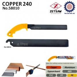 CƯA CẮT ỐNG ĐỒNG ĐA NĂNG COPPER 240 ZETSAW 58010