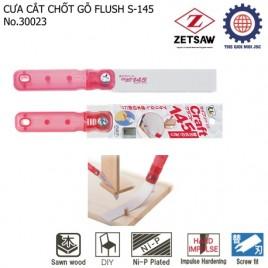 Cưa cắt chốt gỗ (uốn cong được) FLUSH S-145 – ZETSAW 30023