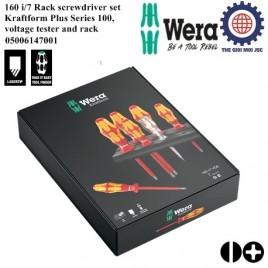 Bộ tua vít Wera cách điện 160 i/7 gồm 7 cái Wera 05006147001