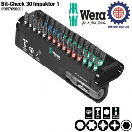 BỘ ĐẦU BIT BC Impaktor/30 Bit-Check – WERA 05057690001 (30 CÁI)