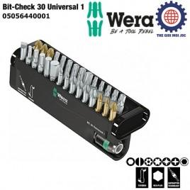 BỘ ĐẦU BIT BC Universal/30 Bit-Check – WERA 05056440001 (30 CÁI)