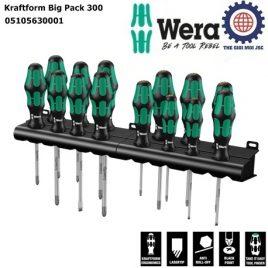 BỘ TUA VÍT ĐIỆN 14 CHIẾC Kraftform Big Pack 300 ( 350 PH) WERA 05105630001