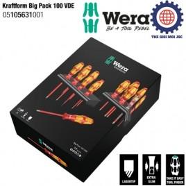 Bộ tua vít cách điện 14 chiếc Kraftform Big Pack 100 VDE Wera 05105631001