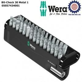 Bộ Bit-Check 30 Metal 1 WERA 05057434001