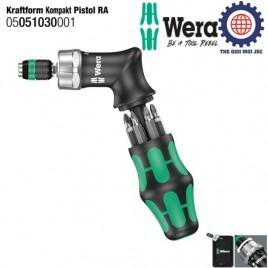 Dụng cụ Wera mở vít dạng súng Kraftform Kompakt Pistol RA Wera 05051030001