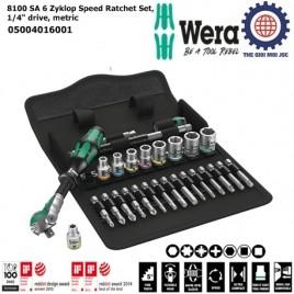 Bộ khẩu 8100 SA 6 1/4″ gồm 28 chi tiết Wera 05004016001
