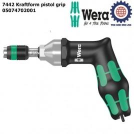 Tuốc nơ vít cân lực dạng súng Wera 05074702001