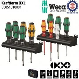 Bộ tua vít điện 12 chiếc tổng hợp Kraftform XXL Wera 05051010001
