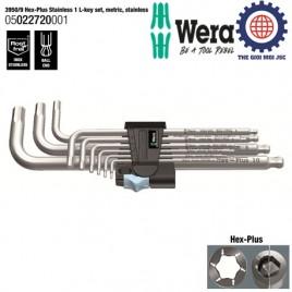 Bộ lục giác đầu bi thép không gỉ (Stainless Steel 3950 PKL/9) – WERA 05022720001