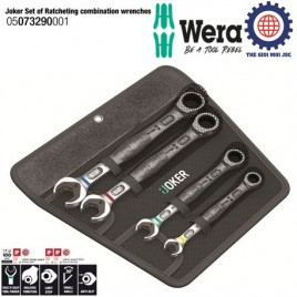 Set of ratcheting combination wrenches Wera 05073290001