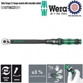 Cần xiết chỉnh lực Click-Torque C 3, 40 – 200Nm Wera 05075622001