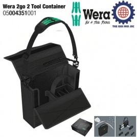Túi xách cao cấp đựng dụng cụ Wera 2go – Wera 05004351001