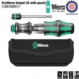 Dụng cụ vặn vít đa năng Kraftform Kompakt 25 Wera 05051024001