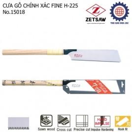 CƯA GỖ CHÍNH XÁC FINE H-225 ZETSAW 15018