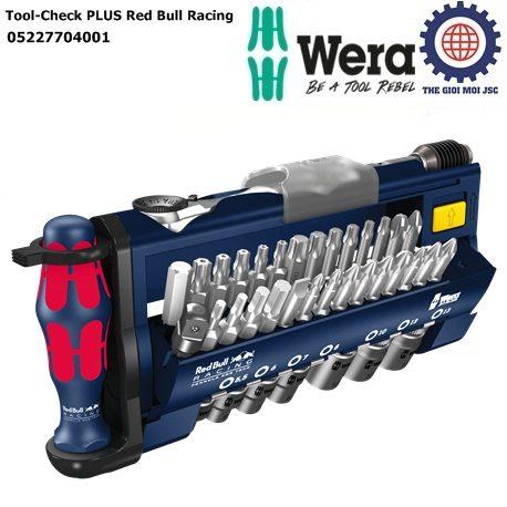 Bộ dụng cụ Wera Tool-Check PLUS Red Bull Racing Wera 05227704001