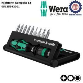 Bộ dụng cụ Wera Kraftform Kompakt 12 Wera 05135942001