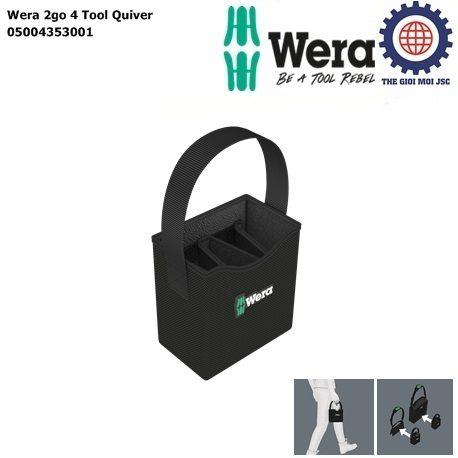 Wera 2go 4 Tool Quiver Wera 05004353001