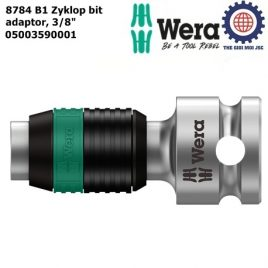 Đầu chuyển 3/8″ 8784 B1 Zyklop bit adaptor Wera 05003590001