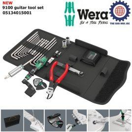 Bộ dụng cụ sửa chữa đàn guitar 9100 guitar tool set với kìm Knipex 74 01 140 – Wera 05134015001