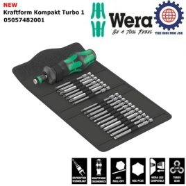Bộ dụng cụ Wera 19 cái Kraftform Kompakt Turbo 1 Wera 05057482001