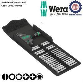 Bộ dụng cụ Kraftform Kompakt 400 Wera 05057470001