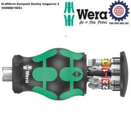 Dụng cụ Wera Kraftform Kompakt Stubby magazine 2 Wera 05008874001