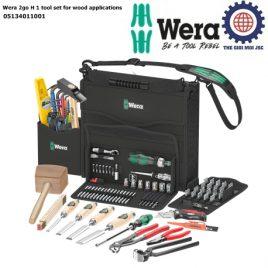 Bộ dụng cụ Wera 2go H 1 tool set for wood applications Wera 05134011001 ngành gỗ kết hợp với các thương hiệu BESSEY, KIRSCHEN, KNIPEX, Lyra, PICARD và Stabila