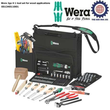 Wera 2go H 1 tool set for wood applications – Wera 05134011001