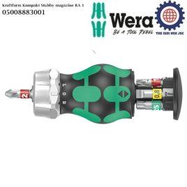 Dụng cụ mở vít cán ngắn Kraftform Kompakt Stubby magazine RA 1 Wera 05008883001